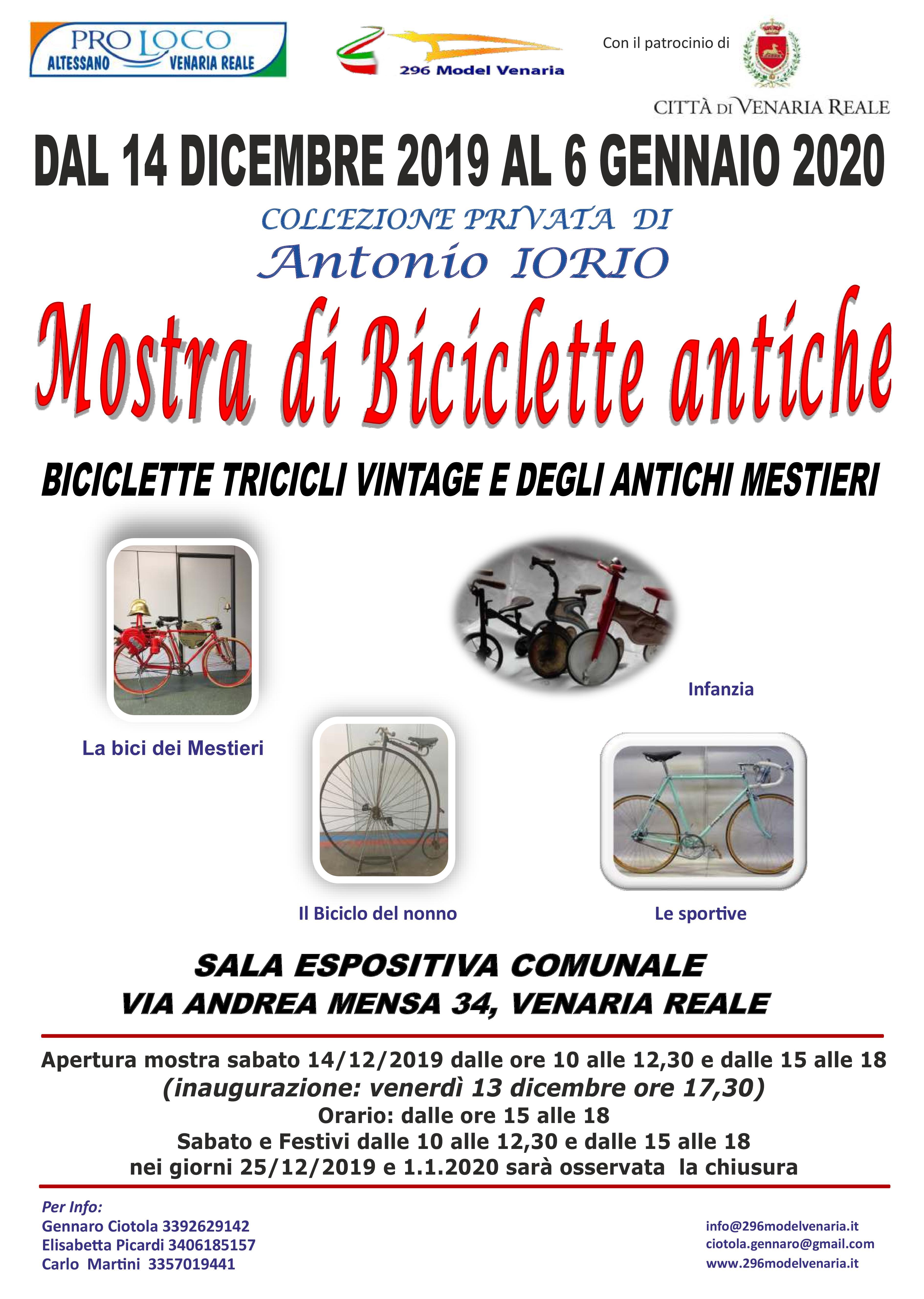 Mostra di biciclette antiche